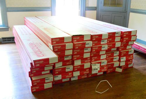 Hardwood Floor Boxes