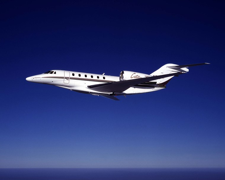 Citation X at Cruise