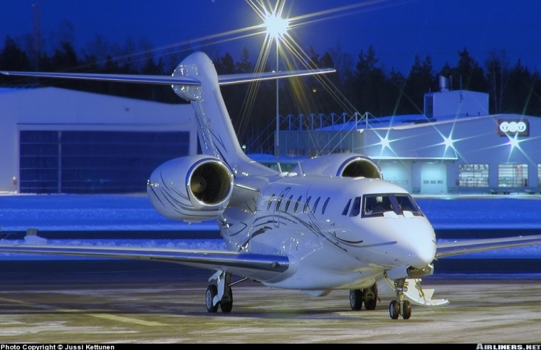 Citation X on the Ramp