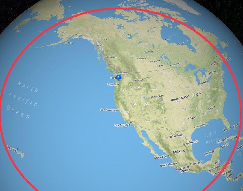 Citation X Range Map