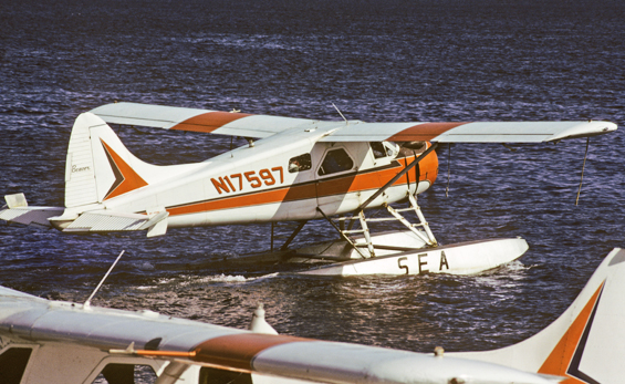 N17597 One of the first Temsco Birds I flew DHC2