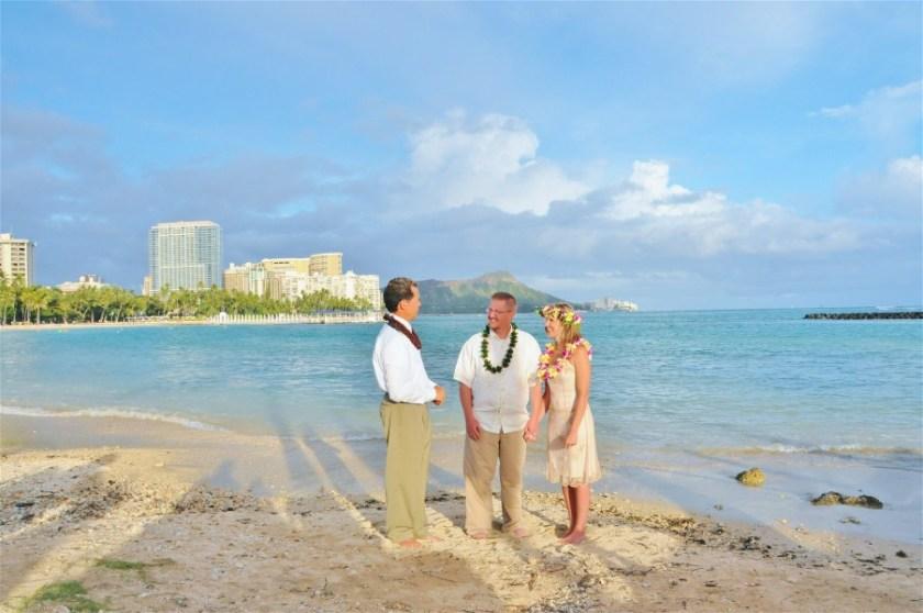 Simple Beach Wedding